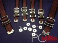 Drywall Stilt Replacement Strap Kit